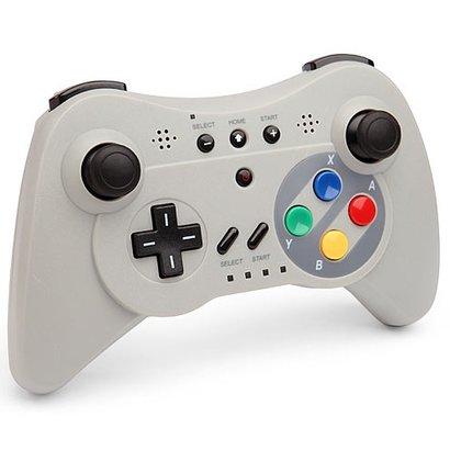 Geeek Wireless Pro Controller SNES look for Wii U