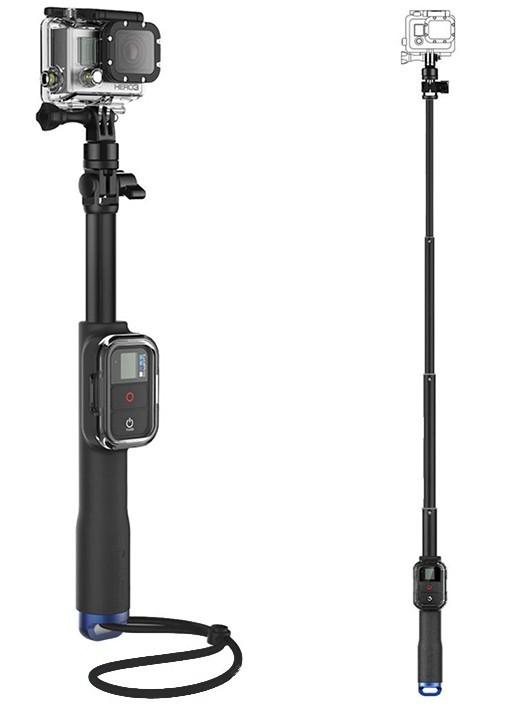 GoPro Extra Lange Selfie Stick met Remote Houder