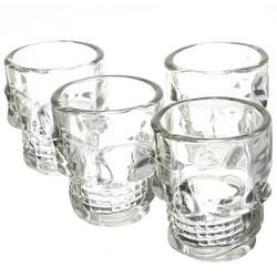 Geeek Kristall Leiter Schnapsglas Skeleton Glass 4 Stück