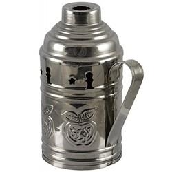 Geeek Shisha Shisha Windschutzscheibe Windschutz Silber