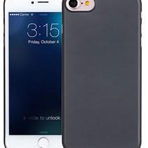 iPhone 7 / iPhone 8 Ultra Dun Hoesje Case Cover Zwart 0.3mm