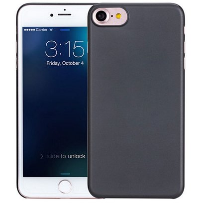 Geeek iPhone 7 / iPhone 8 Ultra dünner Fall-Fall-Abdeckung Schwarz 0.3mm