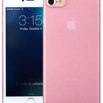 iPhone 7 / iPhone 8 Ultra dünne Fall-Fall-Abdeckung Rosa Rosa 0.3mm