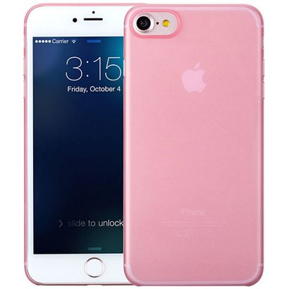 Geeek iPhone 7 / iPhone 8 Ultra dünne Fall-Fall-Abdeckung Rosa Rosa 0.3mm