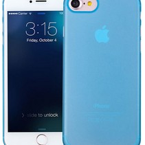 iPhone 7 / iPhone 8 ultra dünner Fall-Fall-Abdeckung Blau 0.3mm