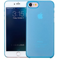 Geeek iPhone 7 / iPhone 8 Ultra Dun Hoesje Case Cover Blauw 0.3mm