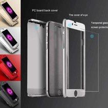 iPhone 7 / 8 Plus-Ganzkörper-360 Super dünne Fall-Abdeckung Fall