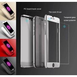 Geeek iPhone 7 Plus-Ganzkörper-360 Super dünne Fall-Abdeckung Fall