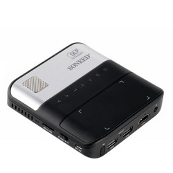 Geeek Beamer DLP Pico-Projektor Wireless WiFi Bluetooth Soneed