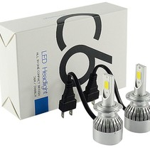 LED Kopflampe H4 Xenon Scheinwerfer Set 6000K