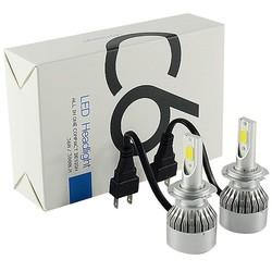 Geeek LED Lamp Head Koplamp Xenon H4 Set 6000K