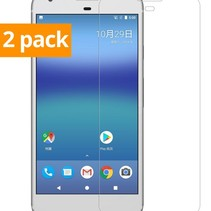 Sterke Tempered Gehard Glazen Glass Screenprotector Google Pixel (2 pack)