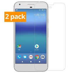 Geeek Sterke Tempered Gehard Glazen Glass Screenprotector Google Pixel (2 pack)