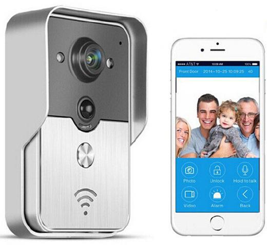 Draadloze Deurbel Met Camera.Wifi Draadloze Deurbel Hd Camera Online Shop Geeektech Com Gadgets