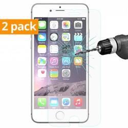 Geeek Sterke Tempered Gehard Glazen Glass Screenprotector iPhone 6 / 6S / 7 en iPhone 8 (2 pack)