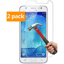 Geeek Sterke Tempered Gehard Glazen Glass Screenprotector Galaxy J5 (2 pack)