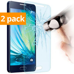 Geeek Strong Tempered Glass Tempered Glass Screen Protector Galaxy A5 (2 Pack)