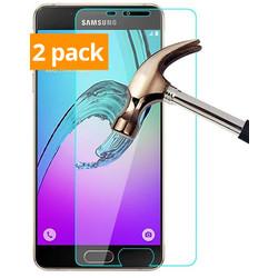 Geeek Starke Ausgeglichenes Glas Ausgeglichenes Glas Screen Protector Galaxy A3 (2-Pack)