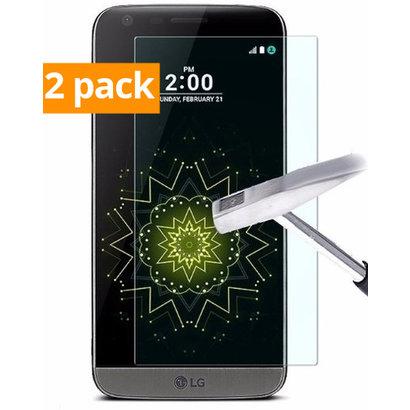 Geeek Starke Ausgeglichenes Glas Ausgeglichenes Glas Screen Protector LG G5 (2er-Pack)