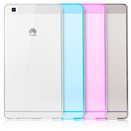 Geeek Ultradünne Cover-Case Huawei P8 – Transparent Matt