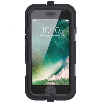 Griffin Survivor All-Terrain Extreme-Fall-Abdeckung iPhone Black 7 / 8