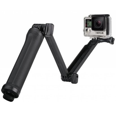 Geeek 3-Way Grip Arm met Tripod Stand voor GoPro