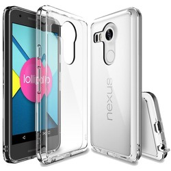 Geeek Ultra Thin 0.3mm transparente Fall TPU Fall-Abdeckung LG Nexus 5X