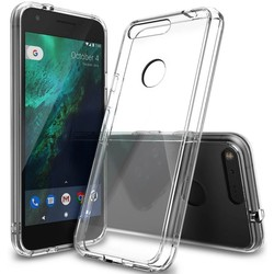 Geeek Ultra Dun 0.3mm Transparant Hoesje TPU Case Cover Google Pixel