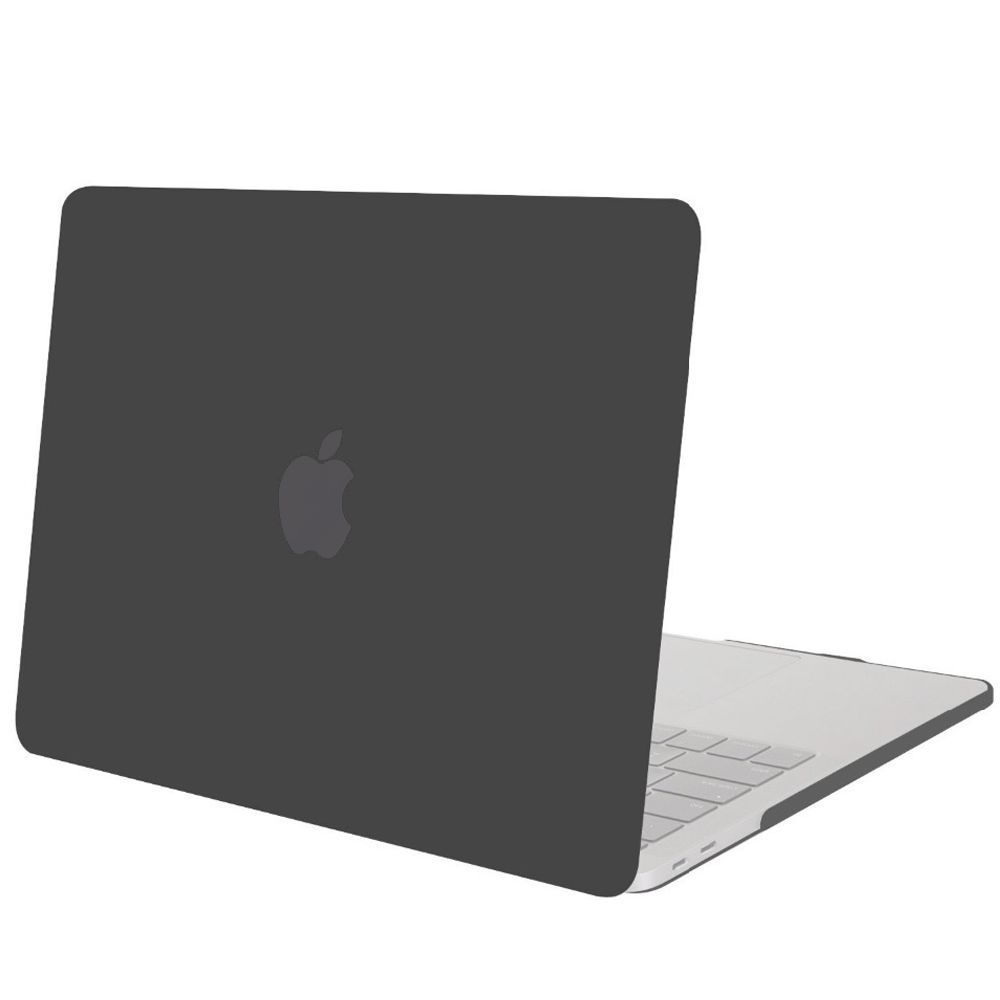 Geeek Hardshell Rubber Cover Case Mat MacBook Pro 13 inch (2016) Zwart ffe13f0c3