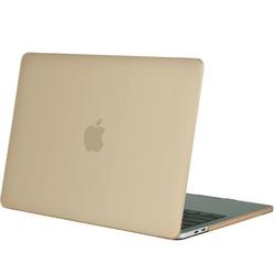 Geeek Ultradünne Matt Gummierte Hartschale Schutzhülle für Apple MacBook Pro 13-Zoll (2016) Gold