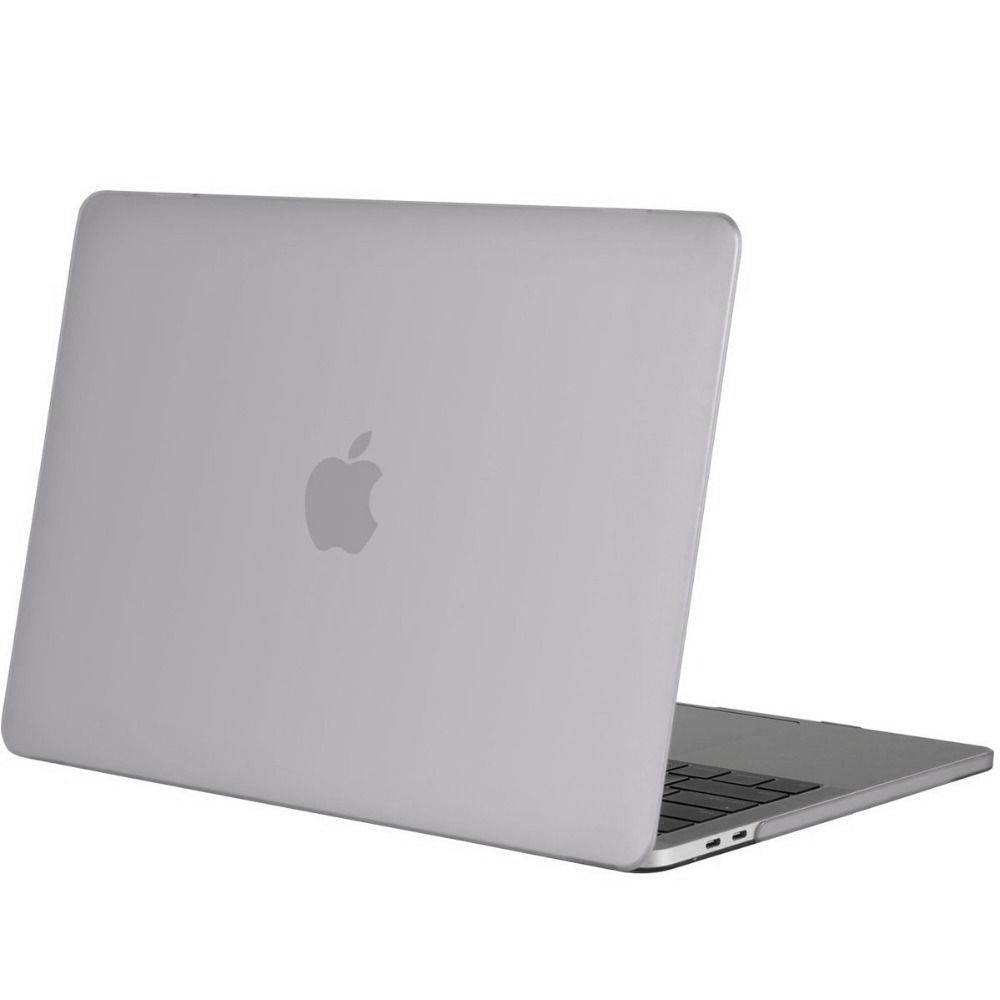 Hardshell Rubber Cover Case Mat MacBook Pro 15 inch (2016) Transparant