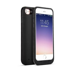 Geeek Ultradünnes 4500mAh Batterie-Kasten-Abdeckung für iPhone 7 / 8 Schwarz