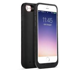 Geeek Ultradunne Battery Case cover 7000mAh voor iPhone 7  / 8 Plus zwart
