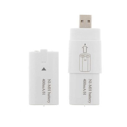 Geeek USB-Ladestation für Xbox One / Xbox One S Batterie inkl. 2x wiederaufladbare Akku 400mAh