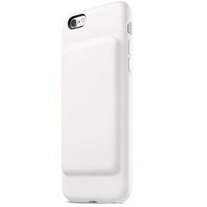 Geeek Smart Battery Case cover Hülle 2500mAh für iPhone 7 / 8 Weiß