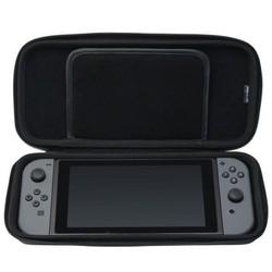 Geeek Schutzhülle Schwarz für Nintendo-Switch Konsole