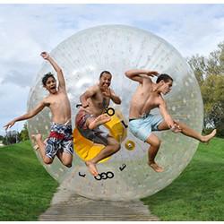 Geeek Zorb Kugel XXL 3.2 Meter Menschen Hamster Wasser-Kugel