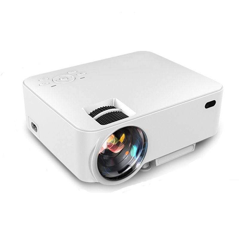 Smart led beamer projector hd 1080p android 4 4 wifi for Bluetooth hdmi projector