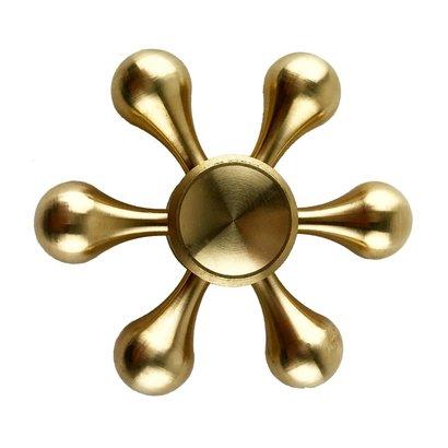 Geeek Metall Hand Spinner Fidget Spinner Metall Tropfen Gold