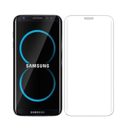 Geeek Sterke Tempered Glass Screenprotector Samsung S8 3D Clear