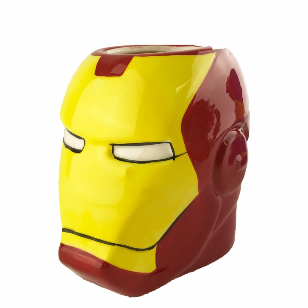 Cartoon Mok Iron Man Marvel