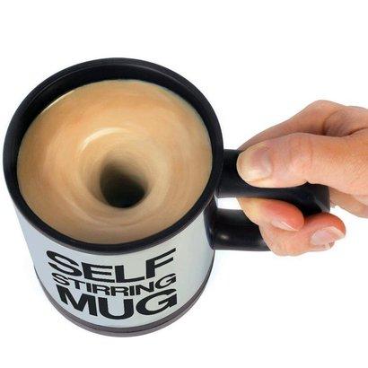 Geeek Kaffeetasse mit Mischer