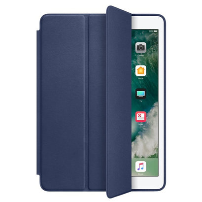 Geeek iPad Air 2 Smart Case Ledertasche – Blau
