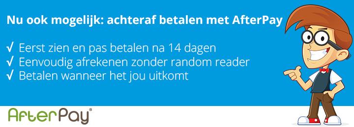 Nu ook bij Geeektech: achteraf betalen met AfterPay