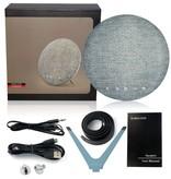 Geeek Draadloze Design Speaker Rond Wireless Bluetooth Portable