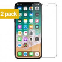 Sterke Tempered Gehard Glazen Glas Screenprotector iPhone X / XS (2 pack)