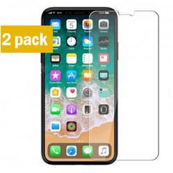 Geeek Sterke Tempered Gehard Glazen Glas Screenprotector iPhone X (2 pack)