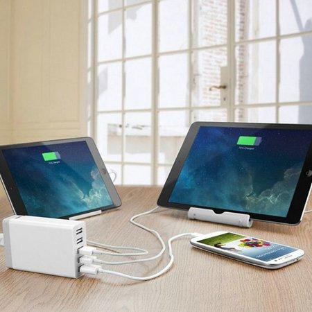 Geeek Powerport 5 Poorts USB Station / Lader - 40 Watt - Zwart