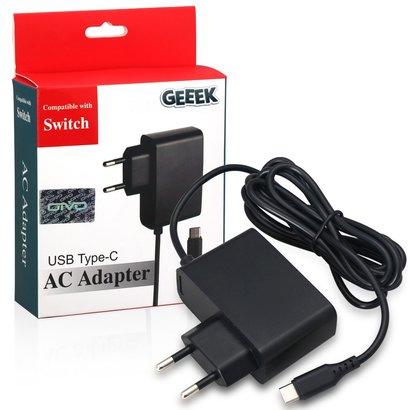 Geeek Ladegerät AC-Adapter Ladegerät Switch