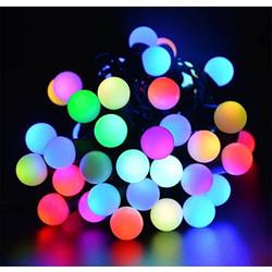Geeek Bol Lampjes Lichtsnoer LED Kerstverlichting 5 meter RGB